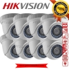 HIKVISION (( Camera Pack 8 )) DS-2CE56C0T-IR x 8 (HD 1080P)