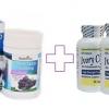 Healthway Grapeseed 50,000 mg 1 ปุก 100 เม็ด+กลูต้าไอวิรี่แคป 1 ปุก 60 เม็ด ผิวขาวใส พร้อมลดเลือนเส้นเลือดขอด