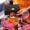 กระเป๋าสตางค์ผู้หญิง NETTY-Black สีดำ