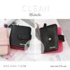 กระเป๋าสตางค์ผู้หญิง CLEAN สีดำ black