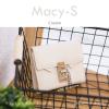 กระเป๋าสตางค์ผู้หญิง ใบสั้น รุ่น MACY-S สีครีม