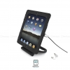 MacLocks iPad Secure Rotating Stand with Cable Lock - Black - iPad2/3/4