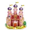 Pink Castle โดมสีชมพู โมเดล 3 มิติ, จิ๊กซอร์ 3มิติ Super model 3D Puzzle โดม ชมพู