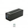 ORICO A3H7 High speed Aluminum USB3.0 7-Port HUB (Black)