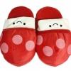 องเท้าใส่ในบ้าน เห็ดน้อย (รหัส03) สีแดง นุ่มๆ อุ่นๆเท้า น่ารักมากๆค่ะ ขนาด free size (แบบหน้ายื่น) เราจะใส่ในบ้าน ในออฟฟิตได้หมดค่ะ ส่งฟรี ems