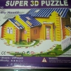 Country House 3D Puzzle Model โมเดล 3 มิติ