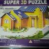 Country House 3D Puzzle Model โมเดล 3 มิติ