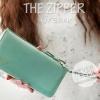 กระเป๋าสตางค์ผู้หญิง รุ่น THE ZIPPER-Green Mint