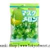 พร้อมส่ง ** Musk Melon ลูกอมรสเมล่อนญี่ปุ่น เม็ดใหญ่ หวาน หอม อร่อย 1 ห่อ บรรจุ 131 กรัม