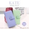 กระเป๋าสตางค์ผู้หญิง รุ่น KATE สีฟ้า ใบยาว