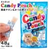 พร้อมส่ง ** Candy Pouch [Chicken & Katsuobushi] แผ่นเยลลี่อัดแน่นด้วยเนื้อไก่และเนื้อปลาโอญี่ปุ่นแห้ง เนื้อเยลลี่เป็นแผ่นทานง่าย ไซส์กำลังดี ป้อนน้องแมวได้ง่ายๆ ไม่เลอะมือ
