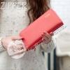 กระเป๋าสตางค์ผู้หญิง รุ่น THE ZIPPER-Red แดงบานเย็น