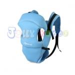 C10112เป้อุ้มเด็ก ปรับท่าอุ้มได้ 4แบบ(สีฟ้า)สินค้าจากต่างประเทศคุณภาพดี