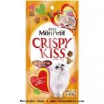 พร้อมส่ง** Mon Petit - CRISPY KISS [Mix Grill Select] ขนมแมวกรุบกรอบแสนอร่อย รสปิ้งย่าง ผลิตจากวัตถุดิบชั้นดีของญี่ปุ่น ให้น้องเหมียวได้เคี้ยวกรุบๆ ช่วยรักษาฟันด้วยค่ะ