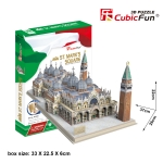 St.Mark's Square Italy Venice Cubic Fun 3D Puzzle Happiness by Nemy Store