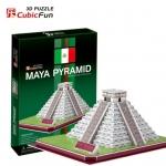 Maya Pyramid(Mexico) Total: 48 pcs Model Size: 28*21*12 cm