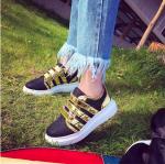[Pre-Order]รองเท้าผ้าใบแฟชั่นผู้หญิง สไตล์เกาหลี size 36-40