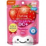 พร้อมส่ง ** Combi teteo Oral Balance Tablet DC+ [Strawberry] เม็ดอมป้องกันฟันผุรสสตรอว์เบอร์รี่ บรรจุ 60 เม็ด