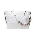 กระเป๋าหนังแกะ gabrielle bag size 28 (สีขาวทั้งใบ) SALE!!