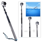 ไม้ Pole กล้อง GoPro ยี่ห้อ Smatree ( รุ่น S3 ) - [ 12.5 - 40 นิ้ว ] (Sea Travel)