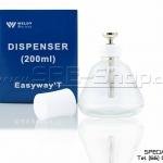 ขวดแก้ว Dispenser Weldy ขนาด 200 ML