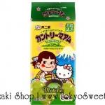 พร้อมส่ง ** Country Maam PEKO & HELLO KITTY Matcha คุ้กกี้ช็อคโกแลตชิพคันทรี่แมมชื่อดังของญี่ปุ่น รสชาเขียวอุจิ มาในแพคเกจเปโกะจังและคิตตี้สุดน่ารัก บรรจุ 12 ชิ้น