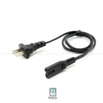 Power cord Volex for Apple Tv , Time Capsuale 0.7 M Black