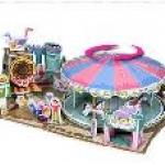 ม้าหมุนมหาสนุก (Fantastic Merry Goround) จำนวน : 79 ชิ้น ขนาดประกอบ : 27 x 19 x 11 cm. สำเนา