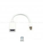 Mini DisplayPort to HDMI 2K,4K Adapter (White) สายต่อเครื่องแมคไป HDMI ความละเอียด 2K และ 4K