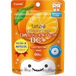 พร้อมส่ง ** Combi teteo Oral Balance Tablet DC+ [Orange] เม็ดอมป้องกันฟันผุรสส้ม บรรจุ 60 เม็ด