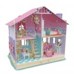 Dream Dollhouse -Carrie's Home บ้านตุ๊กตา โมเดลจิ๊กซอว์ประกอบ 3มิติ