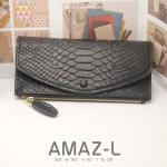 กระเป๋าสตางค์ผู้หญิง AMAZ-L สีดำ