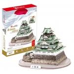 จิ๊กซอ3มิติปราสาทโอซาก้า(Osaka Castle) จำนวน 101 ชิ้น โมเดลไซส์ 38x26x26 ซม. Japan ญี่ปุ่น
