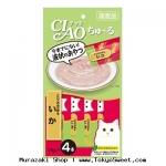พร้อมสง ** Inaba - CIAO Chu~ru [Torisasami & Ika] ขนมแมวเลีย ชนิดครีม ใช้สันในไก่และปลาหมึกเป็นส่วนประกอบหลัก ทานง่ายน้องแมวชอบมากๆ ฮิตสุดๆ ทั้งที่ไทยและญี่ปุ่น Made in Japan