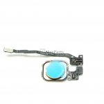 821-2092-A iPhone 5s Home Button Assembly - Silver