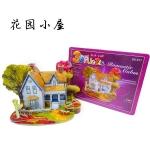 Romantic castle house โมเดล 3 มิติ 3D Puzzle Model