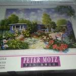 จิ๊กซอว์ 500 ชิ้น Art Flower Collection Peter MOTZ Jigsaw Puzzle 500 Pieces ขนาด 53 x 38 ซม.