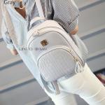 กระเป๋าเป้ผู้หญิง รุ่น AMAZ BAG สีเทา
