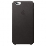iPhone 6,6S Leather Case - Black , เคสหนัง iPhone 6,6s - สีดำ