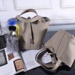 กระเป๋าหนังวัว รุ่น Picotin 18' Gray