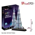 Burj Khalifa CubicFun L133h 3D Puzzle 136 Pieces
