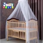 B10140(WDD2)เตียงนอนไม้สีเบจ ครบเซ็ท