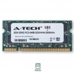 Ram 4GB KIT 800MHZ DDR2 SO-DIMM PC2-6400 (2GBx2) A-TECH