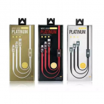 REMAX Lightning Platinum Cable 3 in 1 iPhone /Micro/Type-C 100CM