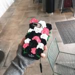 เคสมือถือลายกุหลาบ Kate spade (ฺBlack Rose)