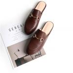 รองเท้า หนัง แท้ Gucci style 001 Brown