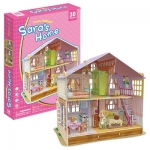 Dream Dollhouse - Sara's Home บ้านตุ๊กตา Cubicfun