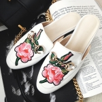 รองเท้า หนัง แท้ Gucci style 002 White