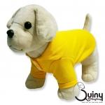 เสื้อสุนัข POLO สีเหลือง