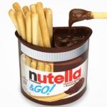 พร้อมส่ง ** Nutella & Go บิสกิตแท่งจิ้มช็อกโกแลตนูเทลล่า 48 กรัม
